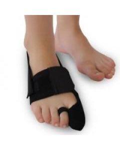 Бандаж для відведення великого пальця стопи правий (чорний)